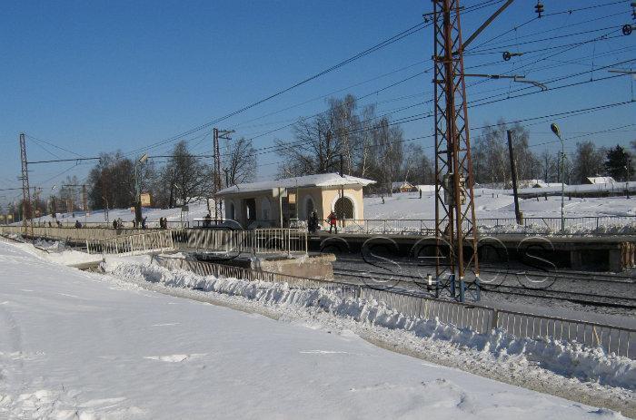 климовск фото весенняя станция