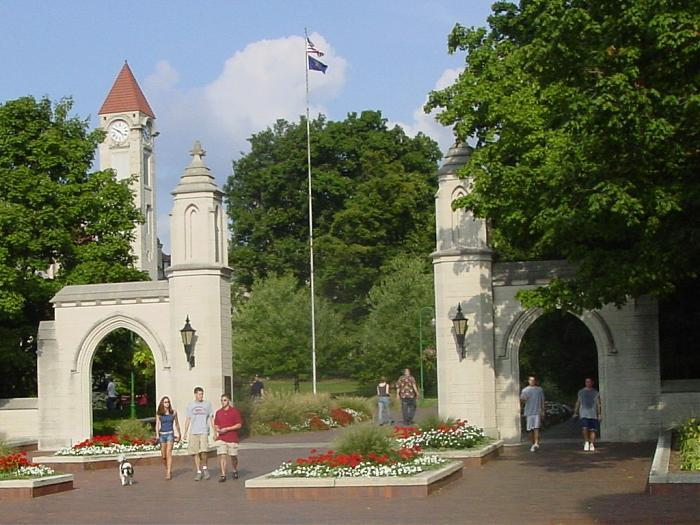 Sample Gates Bloomington Indiana Entrance