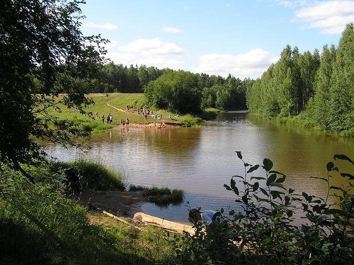 Место деревни Гоголино садоводческий
