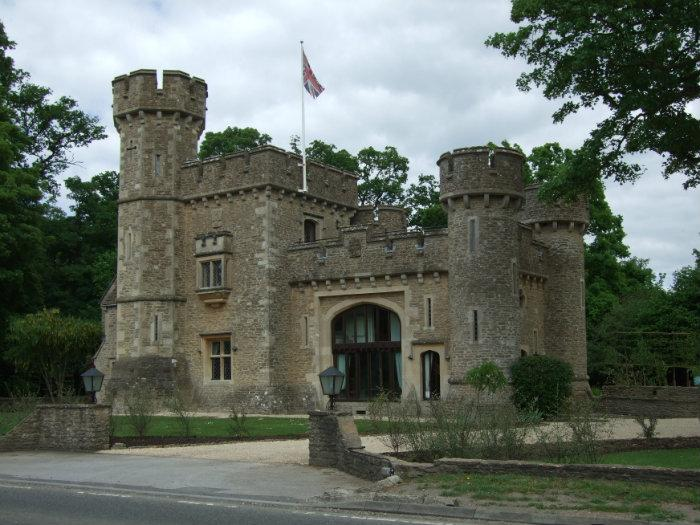Tower house or castle court - The house in the old franciscan tower ...