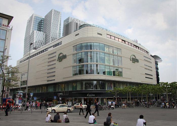 Kaufhof Frankfurt Parken