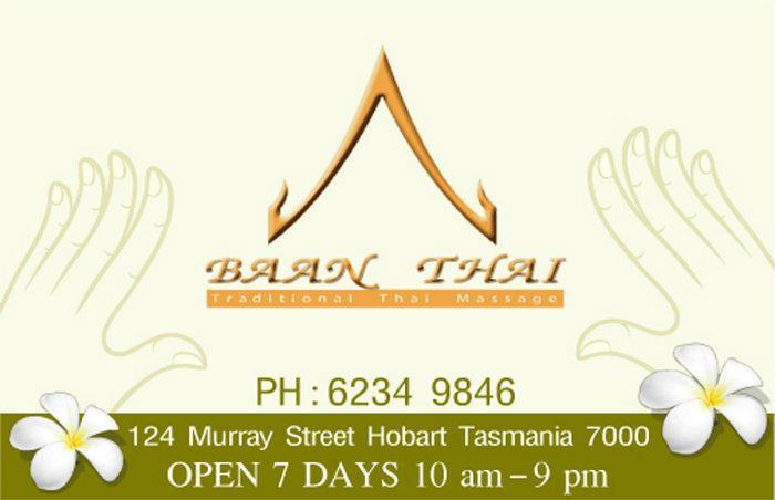Thai massage hobart