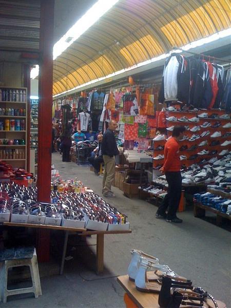 The market (Tregu i Medresesë) (Tirana)