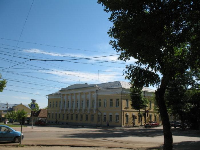 Схема движения маршрутного транспорта в городе Калуга. .  Номер маршрута: наименование.