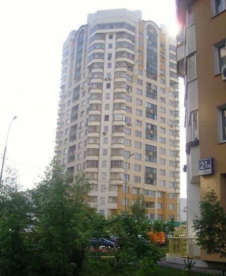 Братеевская ул., 21 корпус 5 - москва.
