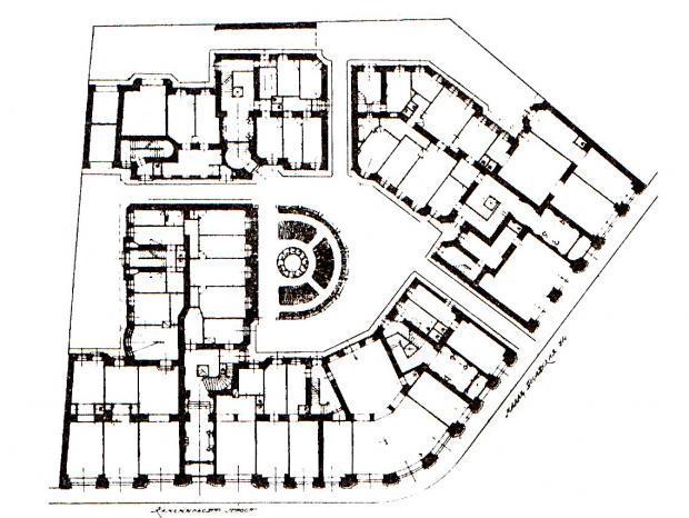 Планировка домов в спб схема