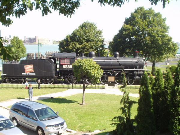 Canadian National Steam Locomotive 5588 Spirit Of Windsor Windsor Ontario