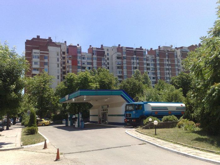 Бензиностанция ALPI