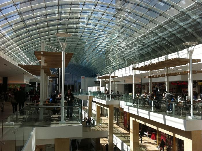 Largest Skylight in Canada The Core Shopping Centre