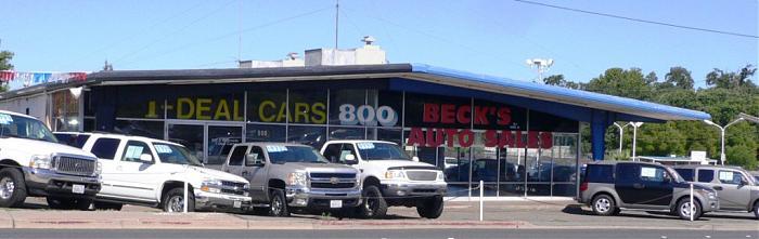 Beck 39 s auto sales roseville california for Honda dealership chico ca
