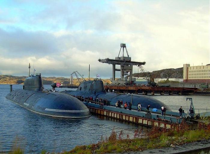 подводные лодки базирующиеся в гаджиево