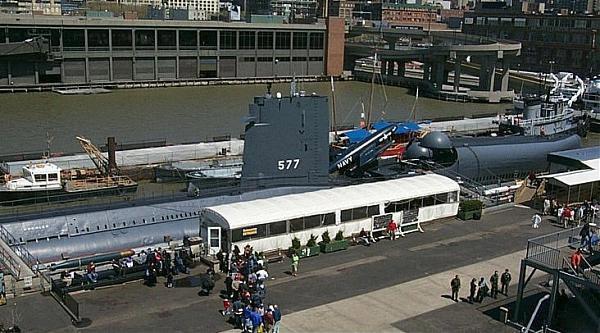 Военный объект подводная лодка