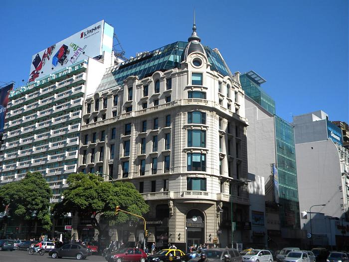 Bbva banco franc s sucursal n 5 edificio nuevo banco for Casas del banco bbva