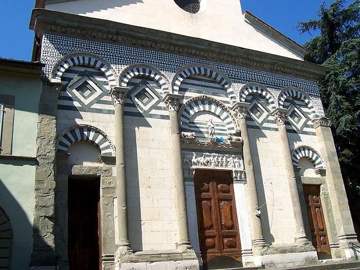 Chiesa di sant 39 andrea pistoia for Chiesa di san leone pistoia