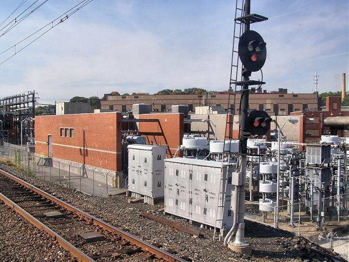Septa Wayne Rail Substation Amp Static Frequency Converter