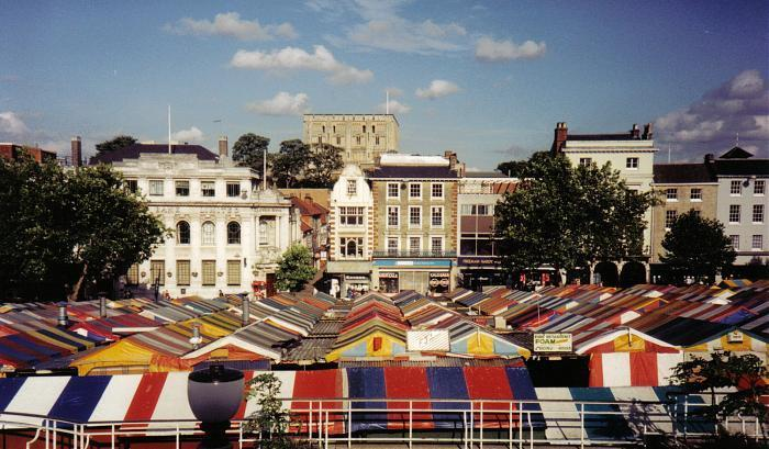 Norwich United Kingdom  city photo : Norwich Market is located in Norwich. Norwich Market Norwich on the ...