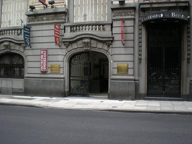 Universidad de belgrano sede marcelo t de alvear 1560 for Hoteles en marcelo t de alvear buenos aires