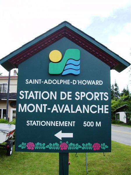 L 39 avalanche ski hill saint adolphe d 39 howard for Bureau en gros ste agathe