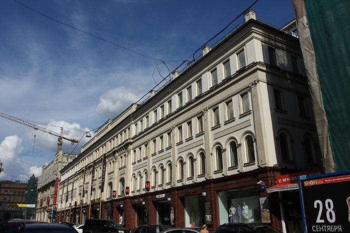 бизнес-центр шереметьевский: