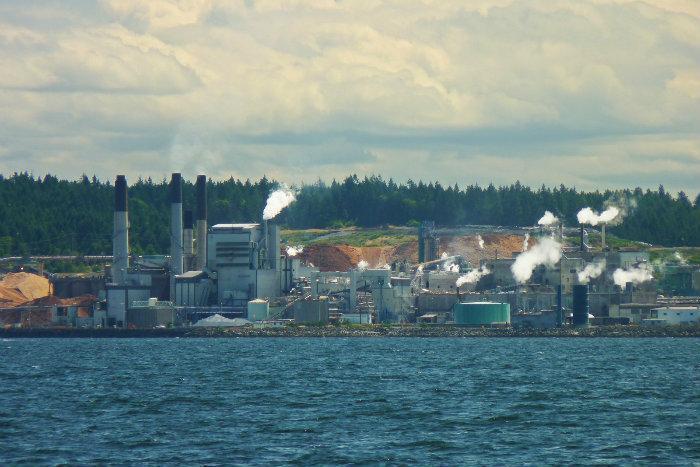The Wave Nanaimo >> Harmac Pacific pulp mill - Nanaimo, British Columbia