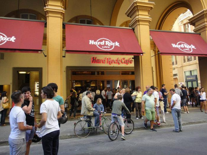 Hard Rock Cafe Florencia Флоренция