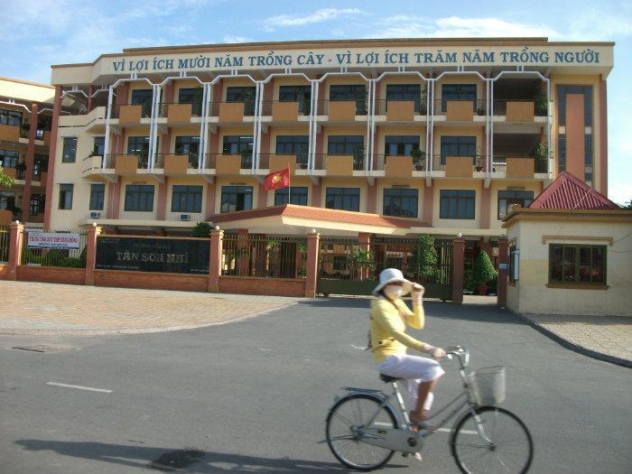 Tan Son Nhi Vietnam  City new picture : Trường tiểu học Tân Sơn Nhì
