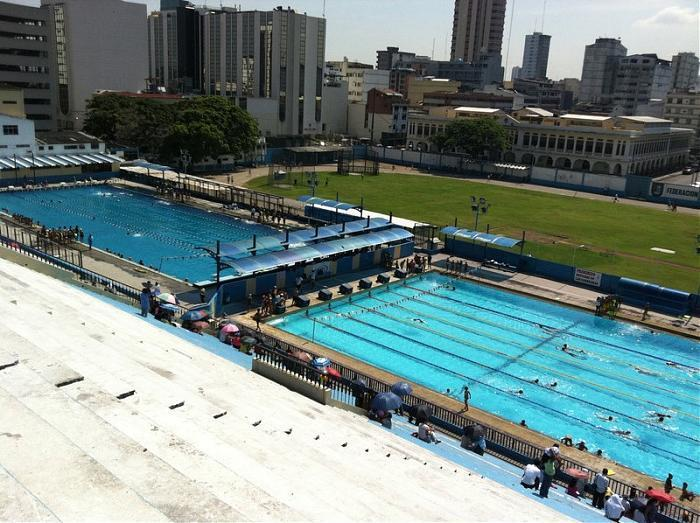 Piscina olimpica guayaquil for Piscina olimpica
