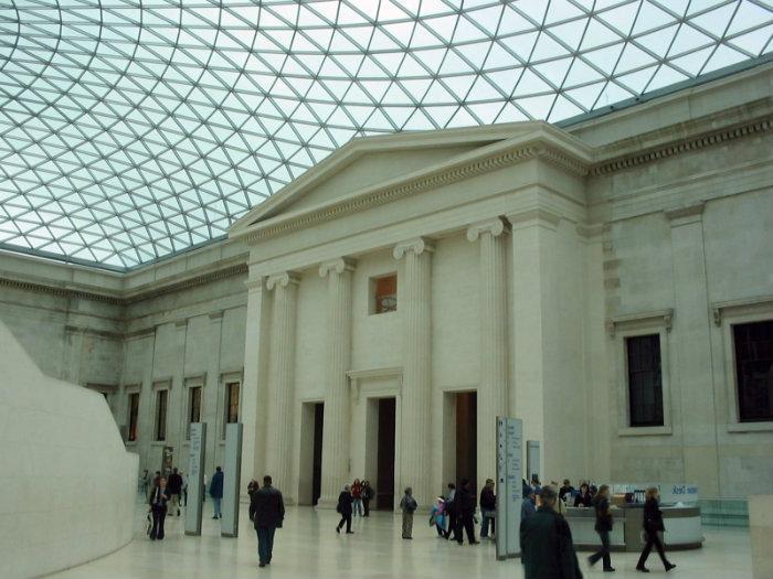 Queen Elizabeth Ii Great Court British Museum London