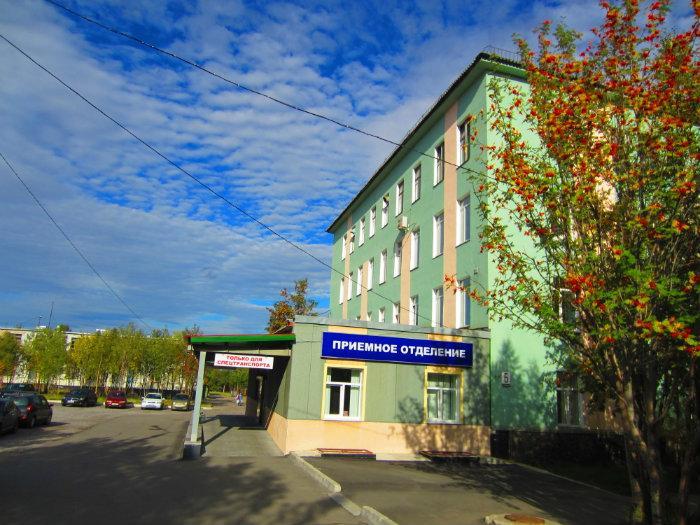 Экстренное приемное отделение областной больницы