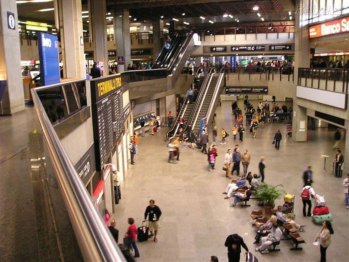 Aeroporto Guarulhos : Antigo terminal de passageiros tps asas c e d