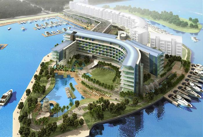 W singapore sentosa cove hotel republic of singapore for Hotel concepts