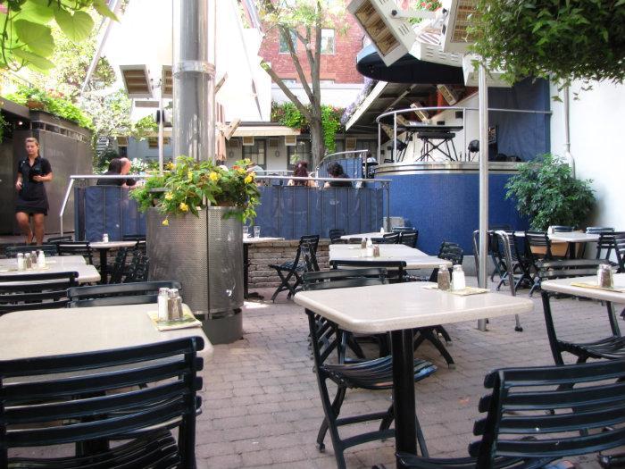 Restaurant terrasse jardin nelson communaut for Restaurant jardin montreal