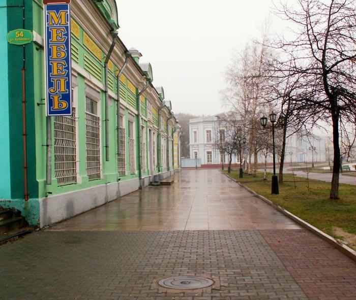 Виды старого и нового города в одной фотографии проект