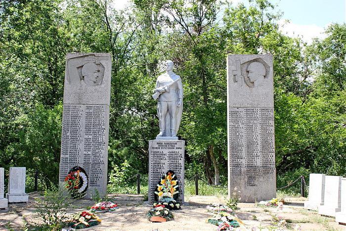 Братские могилы воинов  Ерзовка