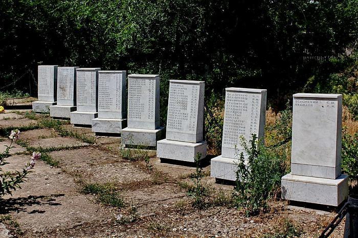 Малая братская могила  Волгоград