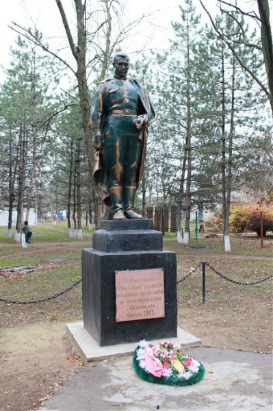 Братская могила советских воинов - Шаблиевка | Вторая Мировая ...