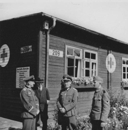 Site of Stalag XI-C / Hospital for POWs / Large Womens