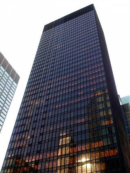 Seagram Building New York City New York Office Building