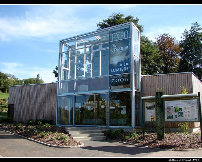 Pavillon d 39 accueil du jardin botanique villers les nancy for Boutique jardin botanique