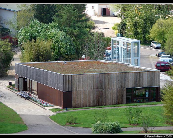 Pavillon d 39 accueil du jardin botanique villers les nancy for Boutique du jardin botanique