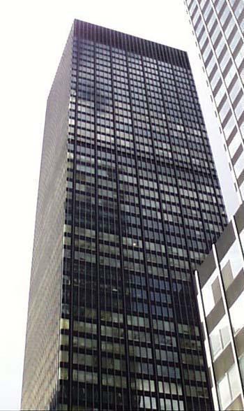 Jp Morgan Chase Tower New York City New York