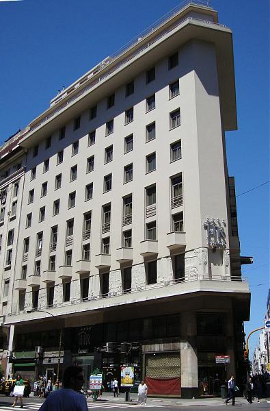Hotel reconquista luxor ex instituto italo argentino de for Art deco hotel buenos aires