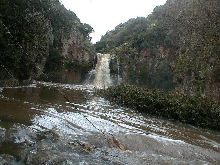 Cascata e laghetto di moronzanos for Cascata laghetto