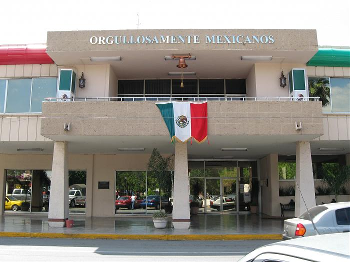 Palacio municipal de apodaca apodaca for Oficinas bankia cercanas