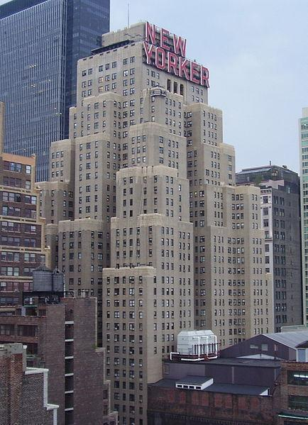 Where Is New Yorker Office Building Where Magazine