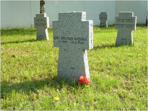 Участок Люблинского кладбища с