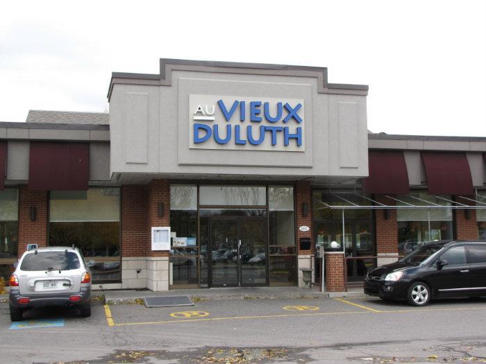Restaurant Au Vieux Duluth - Communauté Métropolitaine de