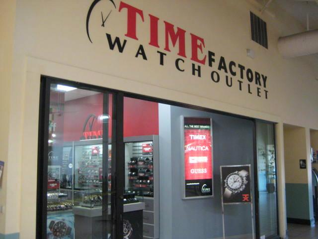 Time Factory Watch Outlet-Gilroy California Outlets - YouTube