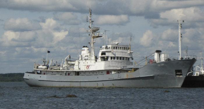 Малое гидрографическое судно ГС-204