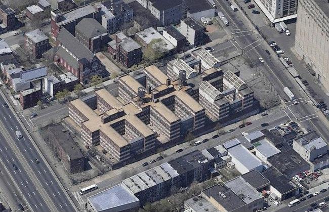 Navy Green Former Bny Brig Brooklyn Detention Facility